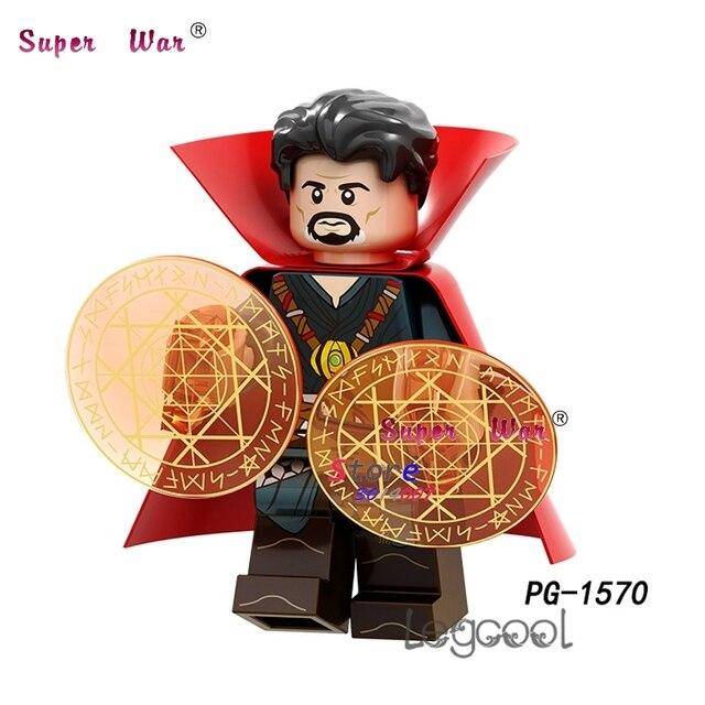 1 PCS blocos de construção do modelo de ação super-heróis Doutor Estranho Bonecas série do partido diy brinquedos para presente de crianças