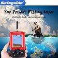 Аксессуары для рыбалки Смарт Портативный глубинный рыболокатор с 100 м беспроводной гидролокатор эхо рыболокатор красный