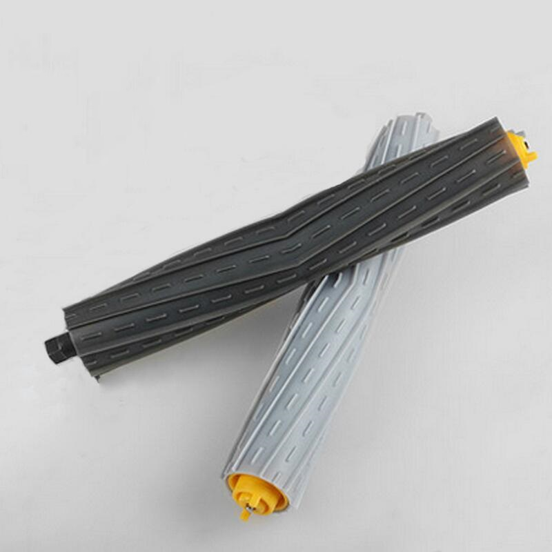 New 1 set Tangle-Free Debris Extractor Brush for iRobot roomba 800 870 880 vacuum cleaner replacement parts 800 Series bristle brush flexible beater brush fit for irobot roomba 500 600 700 series 550 650 660 760 770 780 790 vacuum cleaner parts
