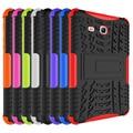 Для Samsung Galaxy Tab 3 Lite 7.0 T110 T111 Броня Противоударный Heavy Duty Силиконовый Футляр Чехол Подставка t110 случаях Таблетки S4C14D