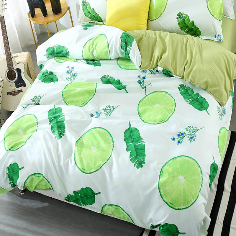 Svetanya 1pc Duvet Cover Printed Quilt Comforter Blanket Cover Single Double Full Queen King Customized Size