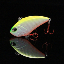 2017 New Original Design Bass Bait Pesca Good Quality Vibrador Hard Fishing Lure 52mm 10g Sinking VIB Carp Fishing Wobbler Peche