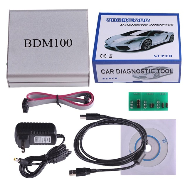 NEW USB BDM 100 V1255 OBD2 ECU Programmer BDM100 Code Reader Remapping ECU Chip Tuning Diagnostic Tool Drop Shipping Wholesale