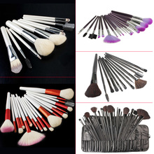 Premium Synthetic Kabuki Makeup Brush Set Cosmetics Foundation blending blush 5 Type High Quality HJL2017