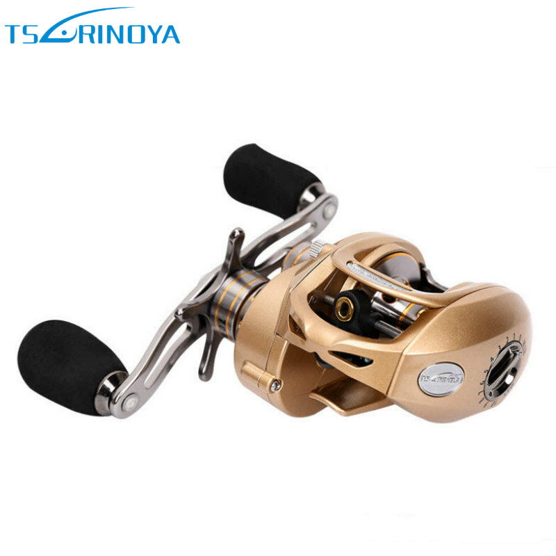 Tsurinoya 2017 Baitcasting Fishing Reel 9+1BB 7.0:1 Left/Right Hand Bait Casting Molinete Centrifugal &Magnetic Brake Carretilha rover drum saltwater fishing reel pesca 6 2 1 9 1bb baitcasting saltwater sea fishing reels bait casting surfcasting drum reel