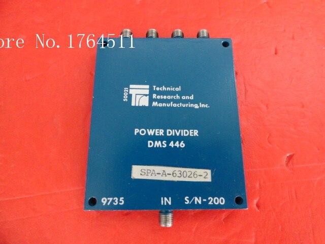 [BELLA] TRM DMS446 2-6GHz A Four Supply Divider SMA