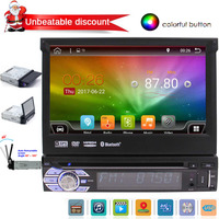 7'' HD Touchscreen Car DVD Player with Android 6.0 GPS Navigation Car Stereo 2 Din In Dash Bluetooth Headunit WiFi Radio Audio
