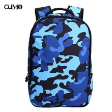 Ou Mo brand Camouflage laptop backpack computer bag anti theft man Women school Bag teenagers travel Casual Backpack