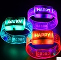 led flashing light bracelet with  glowing bracelet for birthday party decorations kids