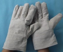 Free delivery 2pairs aggressive worth wear-resistant canvas material slip-resistant working defending security gloves in dimension 9.5″