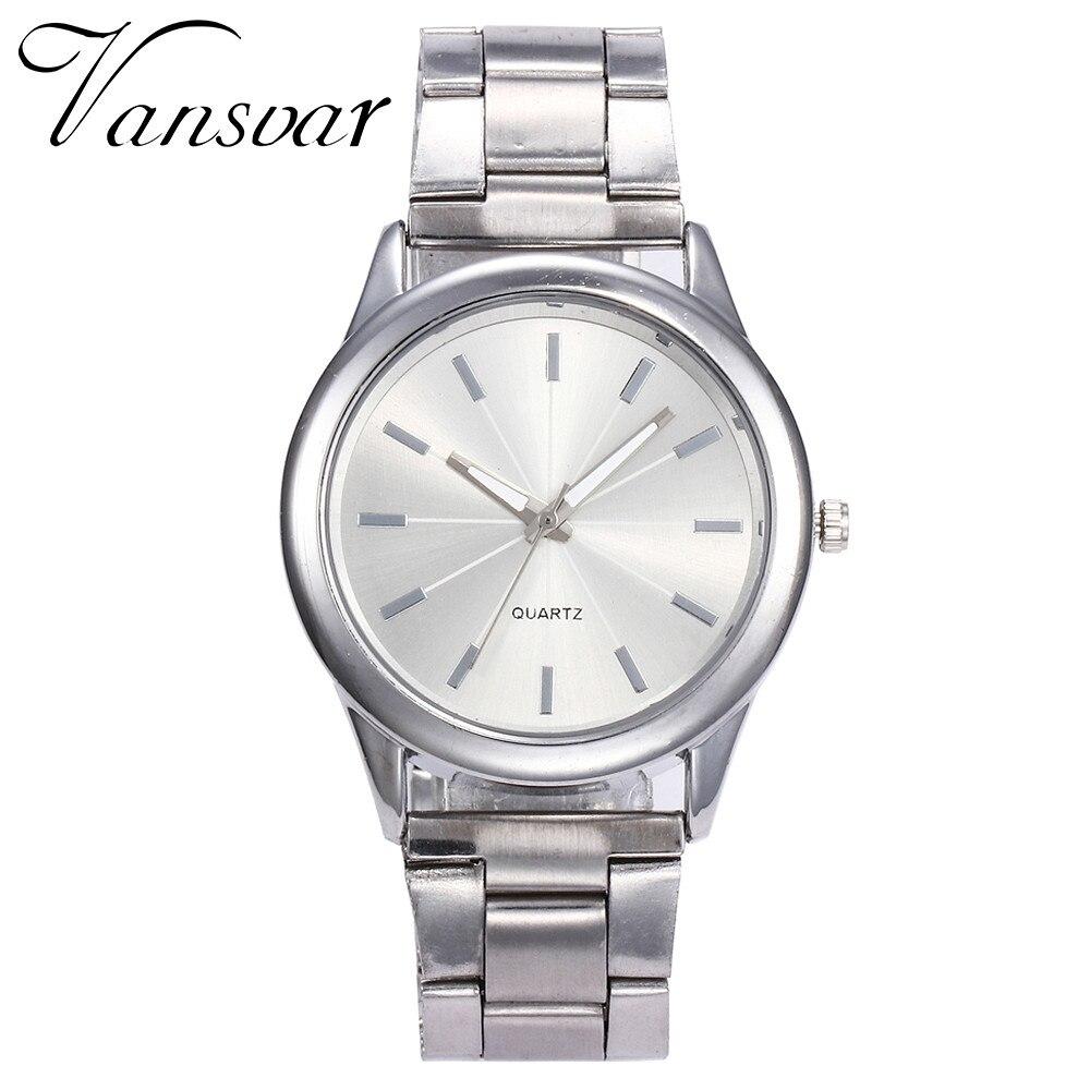 Vansvar Women Watches 2017 Brand Luxury Fashion Quartz Ladies Watch Clock Rose Gold Dress Casual Girl Relogio Feminino Watches