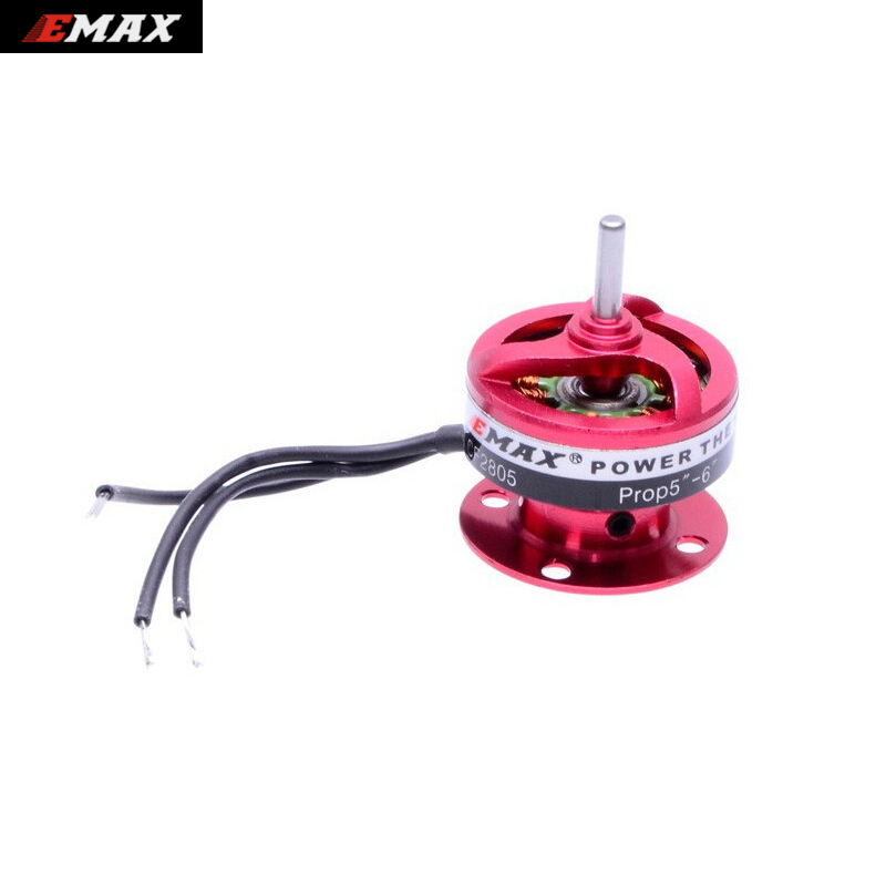4 pcs/lot EMAX CF2805 2840KV Outrunner Brushless Motor for rc airplane + free shipping 4set lot universal rc quadcopter part kit 1045 propeller 1pair hp 30a brushless esc a2212 1000kv outrunner brushless motor