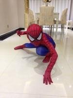 костюм человека-паука дети 3д для девочек удивительный человек-паук маска костюм мальчиков спандекс черный красный хэллоуин для взрослых мужчин косплэй