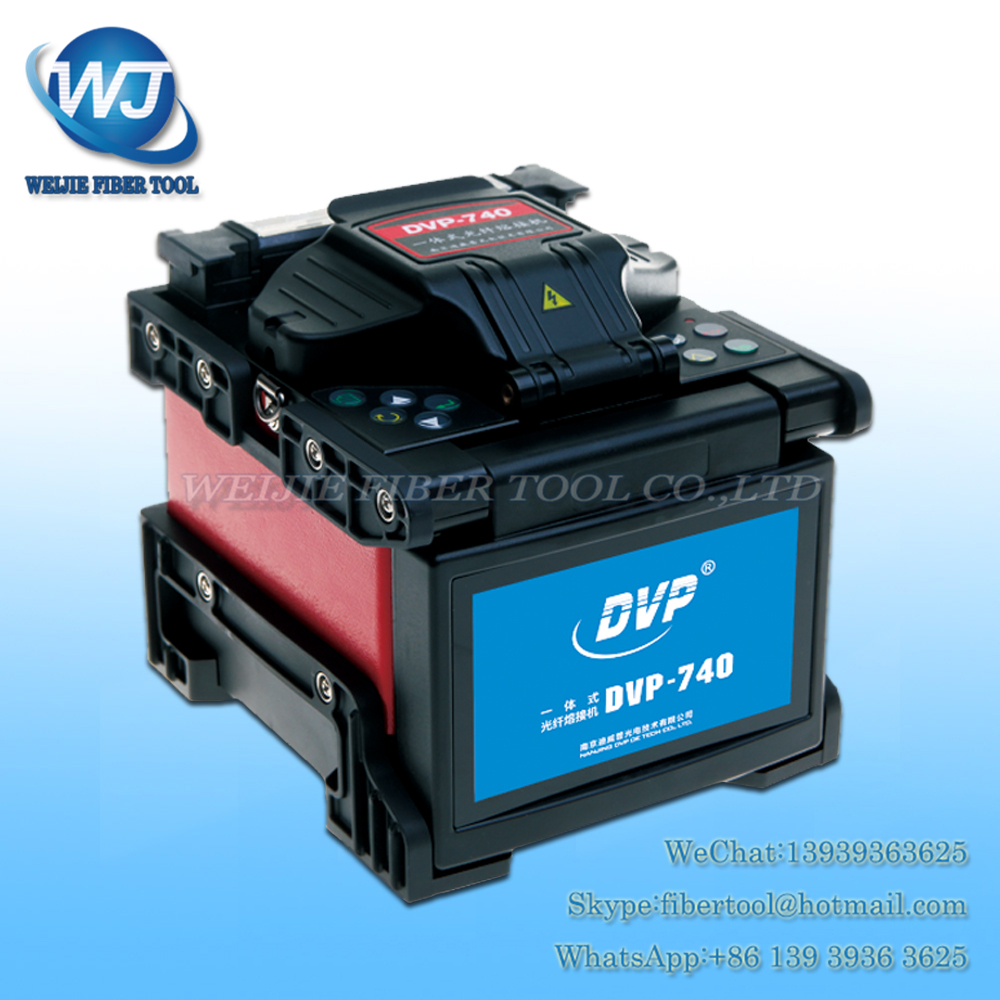 DHL/EMS DVP740 FTTH Fiber Optique Fusion Splicer DVP-740 fiber optique fusion machine fusion épissage machine