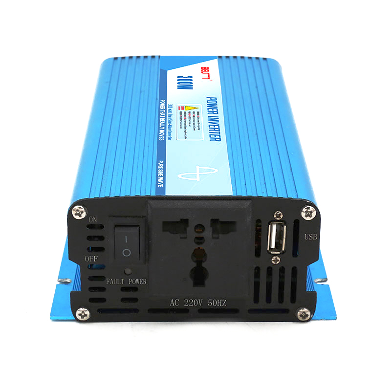 car <font><b>invertor</b></font> Transformer Hot sale Portable <font><b>300W</b></font> DC to AC <font><b>12V</b></font> <font><b>220V</b></font> Pure Sine Wave dc to ac Inverter image