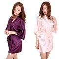 Rb031 Plus Size Kimono Robe Sleepwear noiva Robe 2016 nova chinês Kimono roupões para as mulheres casa da dama de honra Robe