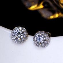 Best sellers of women boucle d oreille Round zirconia Top selling women s  jewelry Lowest price Minimalist bridal stud earrings 34bf1fb022ee