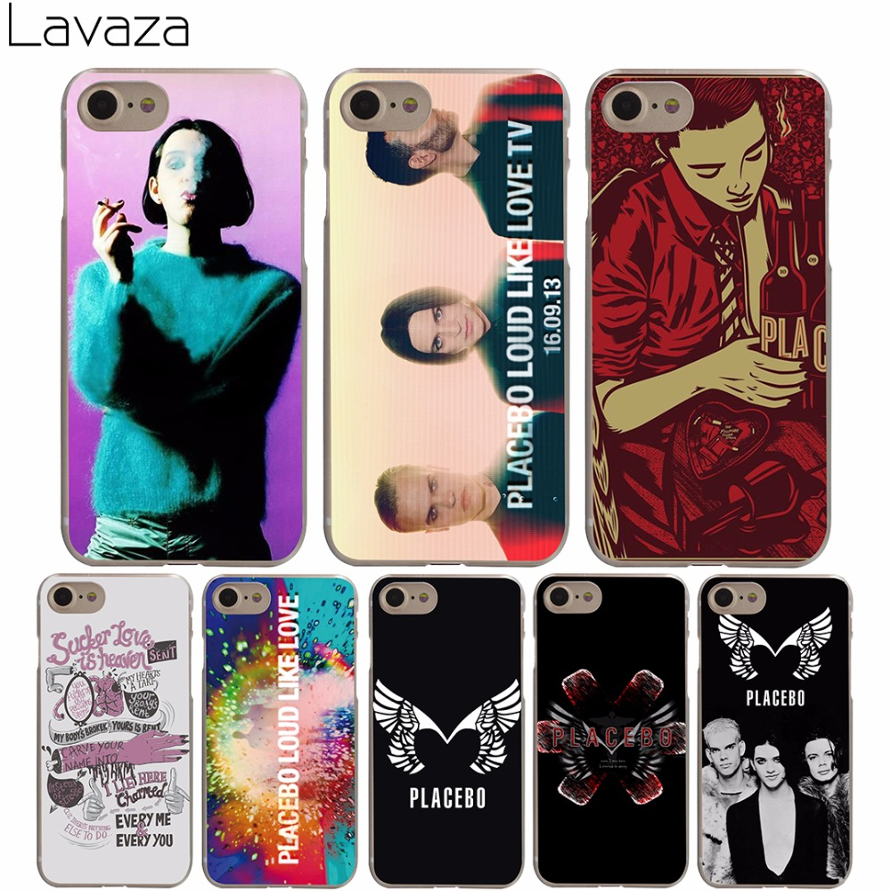Lavaza Placebo Rock Band Hard Transparent Cover Case for iPhone X 10 8 7 6 6S Plus 5 5S SE 5C 4 4S