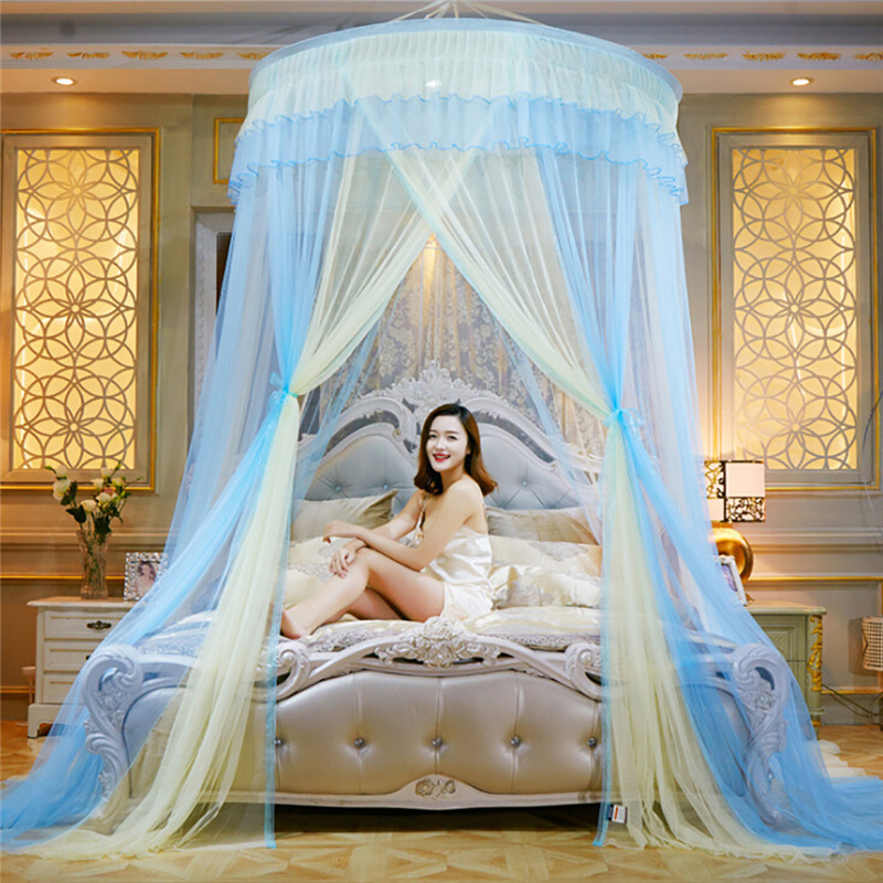 coxeer Patchwork Color Hung Dome Mosquito Net Romantic Hanging Round Lace Bed Canopy Adults Princess Mosquito Net Mosquiteracoxeer Patchwork Color Hung Dome Mosquito Net Romantic Hanging Round Lace Bed Canopy Adults Princess Mosquito Net Mosquitera