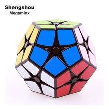 Shengshou megeminx 2×2 Скорость Magic Cube Puzzle профессиональные наклейки 12 стороны кубики образовательных подарок игрушки для детей