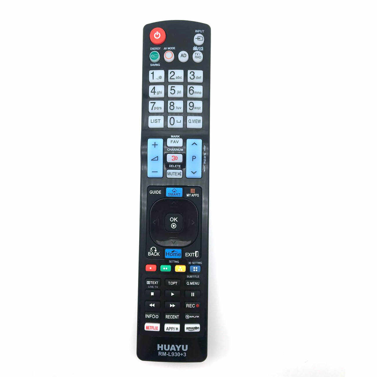 Smart TV Universal TV Remote Control Replace LCD HDTV