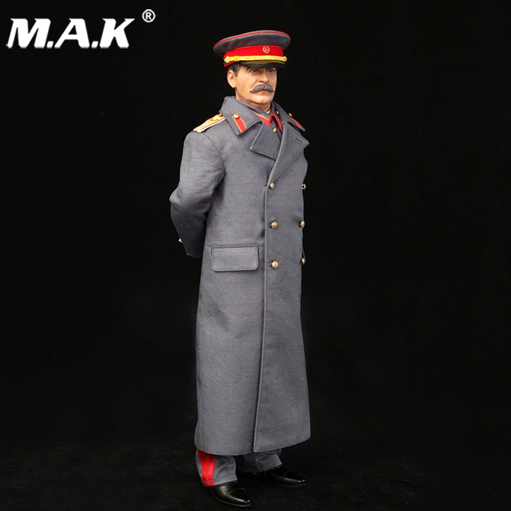 Collectible 1/6 Scale WWII Soviet Joseph Vissarionovich Stalin (1878-1953) Action Figure Doll Toys Gift 1 6 scale figure doll wwii german ss leibstandarte lah honor guard 12 action figures doll collectible figure model toy