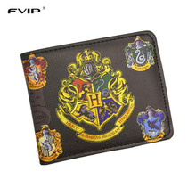 FVIP Wallet Harry Potter /Sherlock Holmes /Breaking Bad /Superman /Walking Dead With Small Zipper Coin Pocket Men's Wallet(China (Mainland))