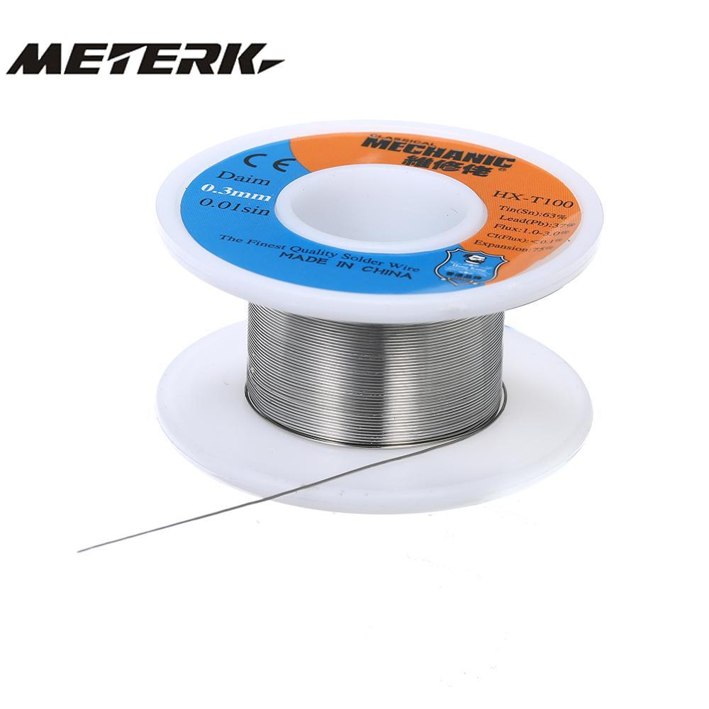 0.3 MM Rosin Roll Core Solder Wire Tin//Lead Flux 63//37 Solder Welding Iron Reel
