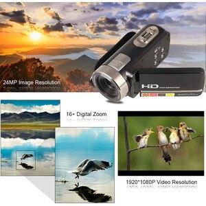"""Image 2 - Caméra vidéo numérique caméscope 3.0 """"LCD écran tactile DV 24MP 1080P Full HD HDMI AV caméra numérique télécommandée de nuit"""