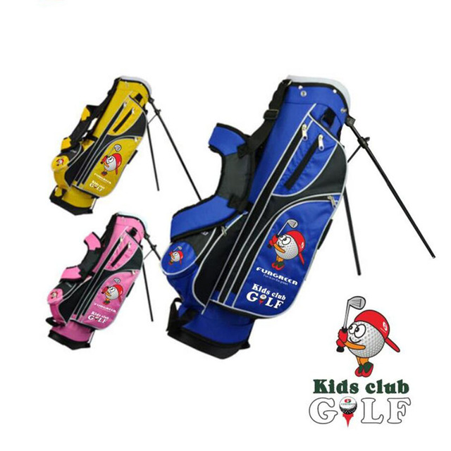 Pre Fungreen Junior Kids Children Golf Complete Clubs Set With 7 Club Bag