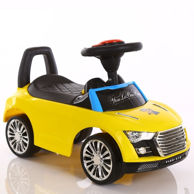 Free shipping Scooter children four wheel twist car can sit Walker baby yo infant music foot driving car