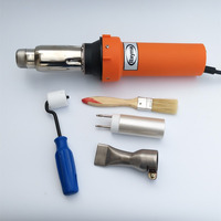 Red Clour Hot Air Gun Hot Air Welding Gun Plastic Welding Gun Best Price High Quality