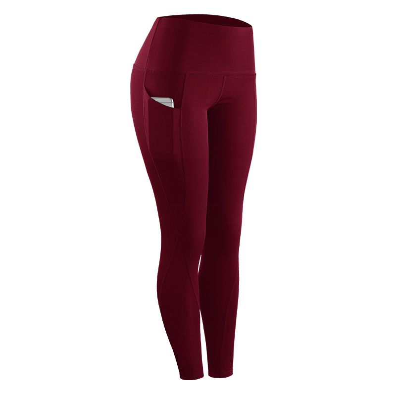 Women Stretch Sportswear Pants with Pocket  Women Compression Skinny Fitness Leggings(China)