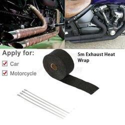 Бесплатная доставка Универсальный мотоциклов негорючие Turbo коллектор выпуск тепла термообработка ленты устойчивая к корозии лента 1,5 мм *