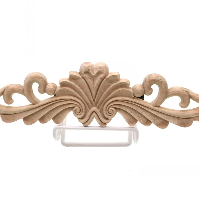 Marvelous RUNBAZEF Wood Decoration Carving Flower Piece Door Decals Decorative  Furniture Vintage Home Decor Figurines Miniatures Ornaments In Figurines U0026  Miniatures ...
