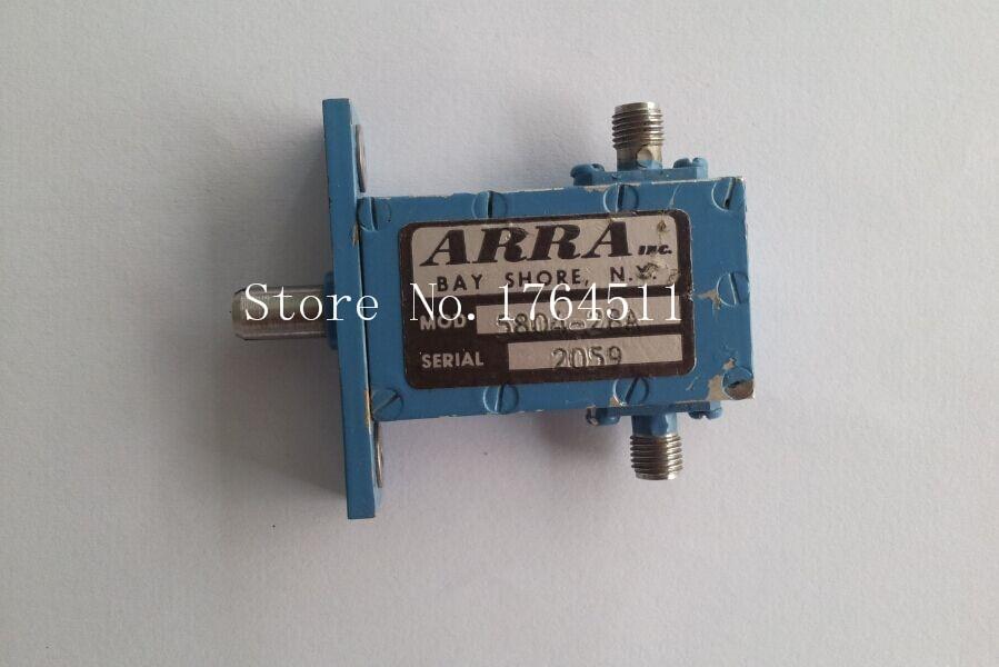 [BELLA] ARRA 5804-28A 4-8GHZ 28dB SMA Hand Adjustable Continuation Variable Attenuator