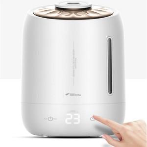 Image 2 - Deerma 5L ev ultrasonik nemlendirici dokunmatik sürümü hava temizleme için klimalı odalar ofis ev D5