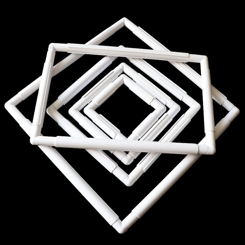 US $2.55 |Квадратная форма, вышивка, пластиковая рамка, инструмент для вышивки крестиком, инструменты для шитья, ручная маркировка, инструменты для рукоделия|Швейные инструменты и аксессуары| |  - AliExpress