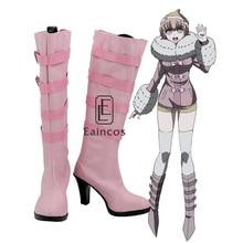Аниме данганронпа 3: Dangan ronpa The End of Hope Side: Future Ruruka Andoh обувь для косплея розовые ботинки для девочек на заказ