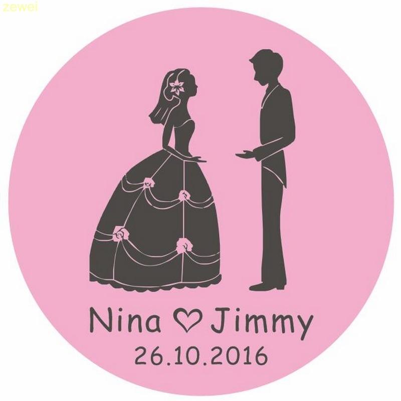 Online Get Cheap Personalized Wedding Sticker Aliexpresscom