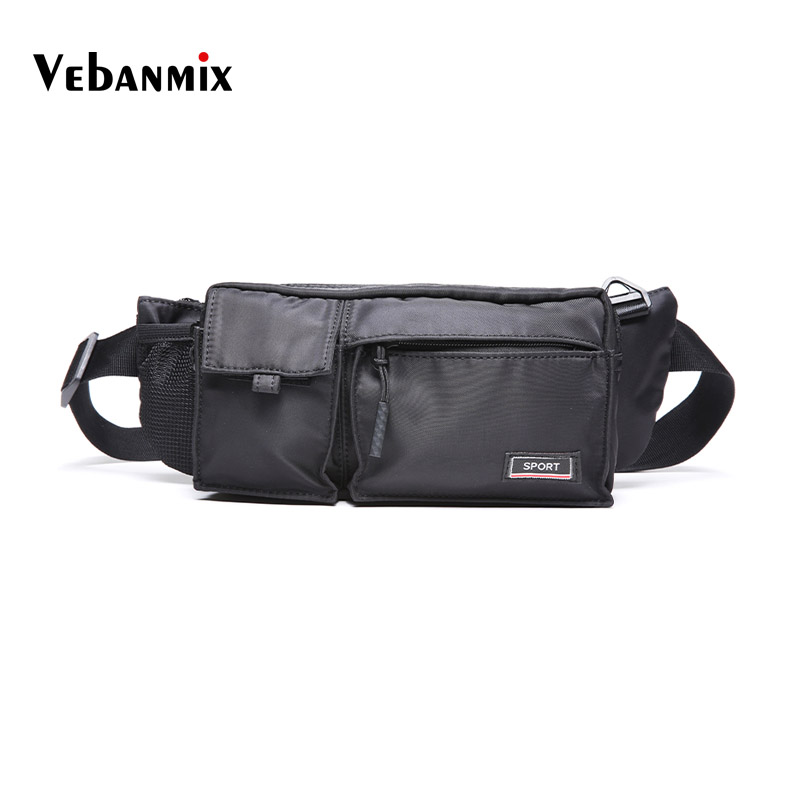 fe74c9951 Men Male Casual Oxford Waist Fanny Pack Money Phone Belt Bag Pouch Bum Hip  Hop Bag. Mouse over to zoom in