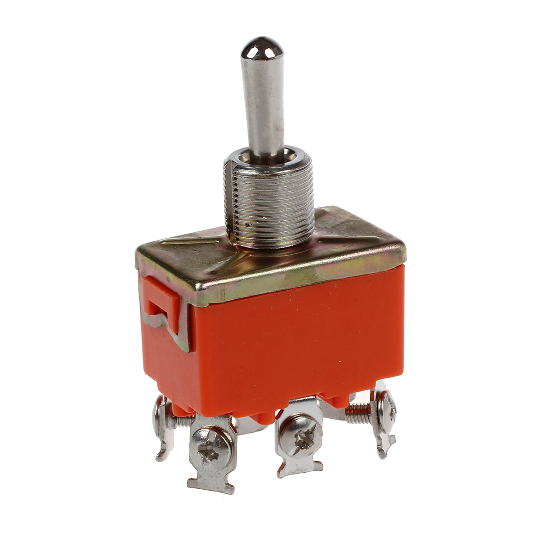 6 Terminals On  Off  On Dpdt Toggle Switch Ac 250v 15a