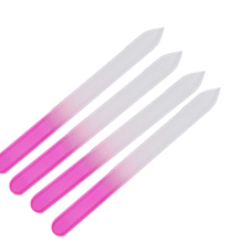 ROSALIND 4PCS/Lot Nail Files Durable Crystal Glass File Buffer Manicure Device Nail Art Decorations Tool Friendly Use