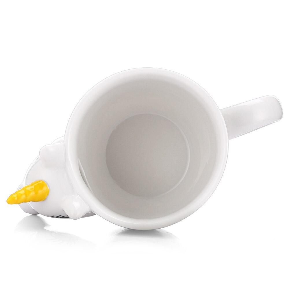 3D Unicorn Temperature Color Changing Ceramic Mug 300ML - Great Christmas Gift 4