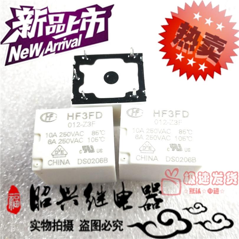 Original new Relays HF3FD 012 Z3F 12VDC 10A HF3FD 012 Z3F 12V