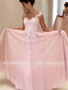 Image 2 - เจ้าหญิงชุดแต่งงานสีชมพู Robe de Mariee Gowns แต่งงาน Sweetheart ชั้นความยาวลูกไม้ชุดเจ้าสาว
