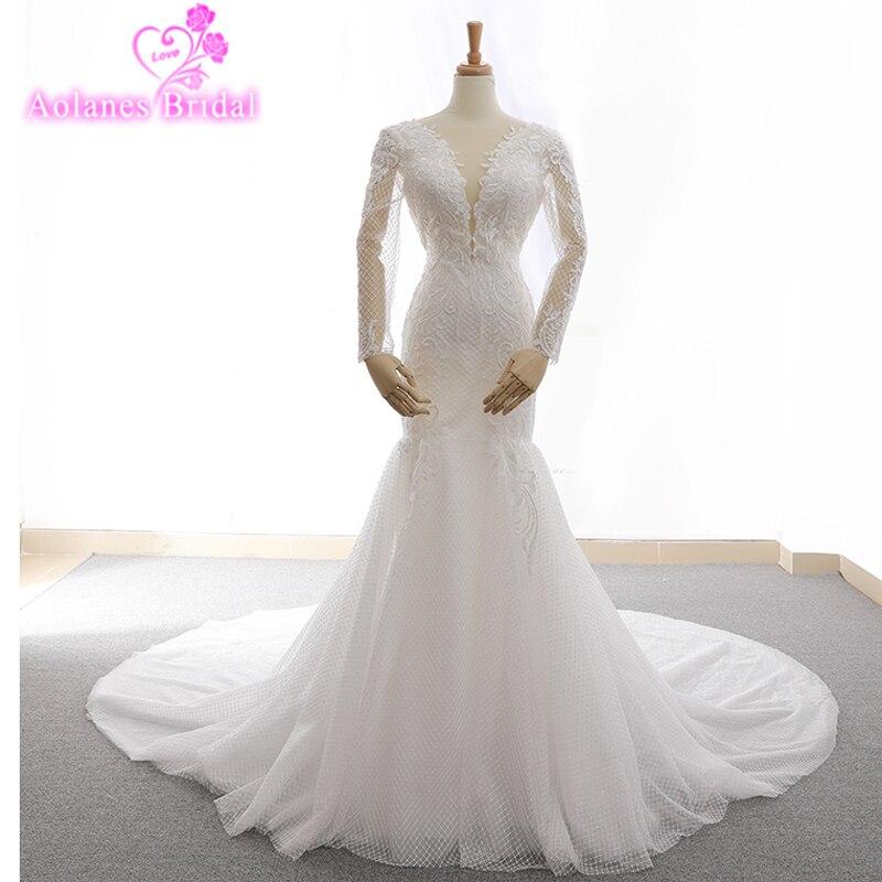 French Lace Mermaid Wedding Dress: Aliexpress.com : Buy 2018 Custom Made Sexy Charming