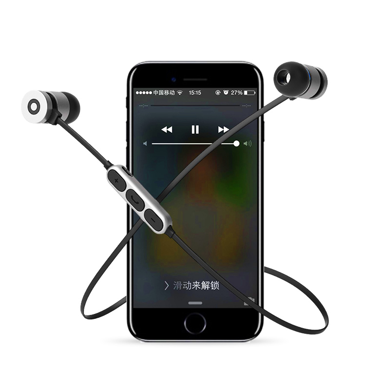 3D Hifi TWS In-ear Bluetooth Earbuds Wireless Earphone Sport Music Headset For iPhone 7 Samsung Xiaomi Android Magnetic phone