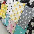 150*110 cm 2016 Nuevo de Alta Calidad de la Historieta 100% Algodón ropa de cama cuna 1 unids bebé juego de Cama incluye hoja de cama de bebé