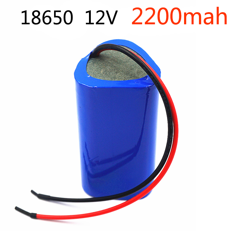 Liitokala Battery 12v bms 3s 12V Battery 2200mAh 12.6V Portable Charger / LED / Hot Sale